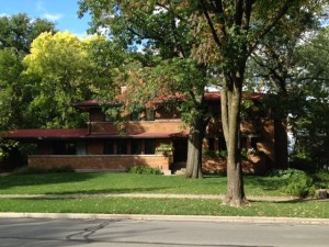 Oak Park Homes - Frank Lloyd Wright